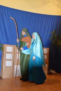 Jozef i Maryja szukają schronienia